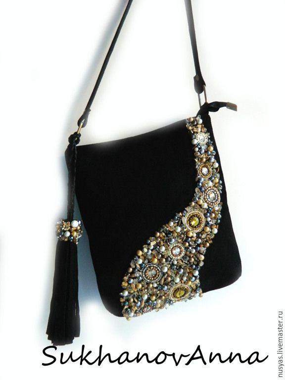 Купить сумку с ручной вышивкой