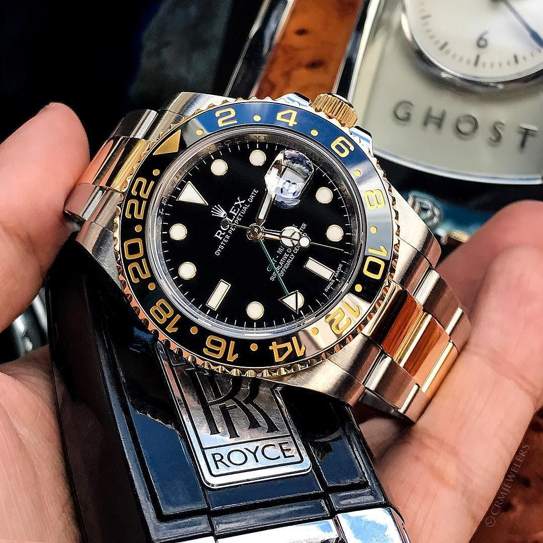 Rolex GMT2 TwoTone Like New Condition $9150 Contact us to Buy
