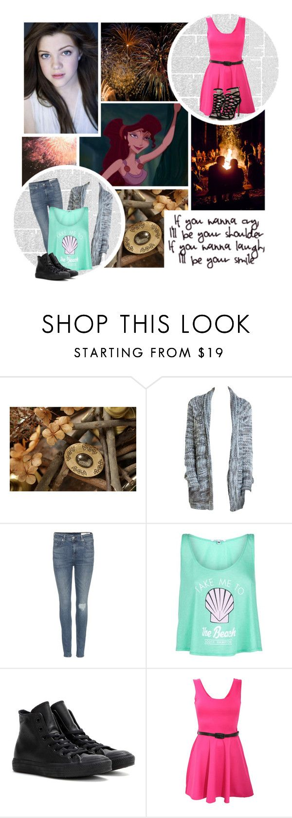 """If you wanna laugh, i will be your smile"" by nika-love ❤ liked on Polyvore featuring rag & bone, Wildfox, Converse and Pilot"
