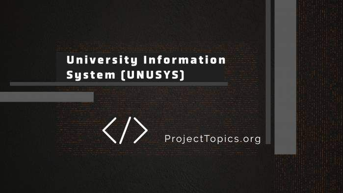 University Information System Unusy Academic Programs Of Liverpool Dissertation Guidelines Guideline