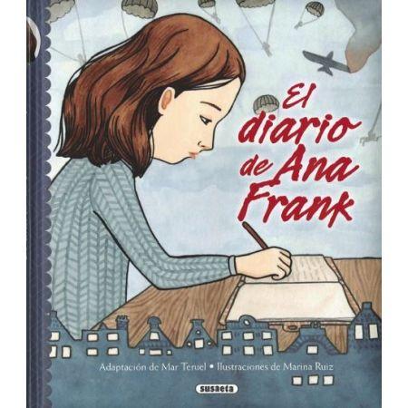 El Diario De Ana Frank Libro De Editorial Susaeta El Diario De Ana Frank Libro Infantil Ana Frank