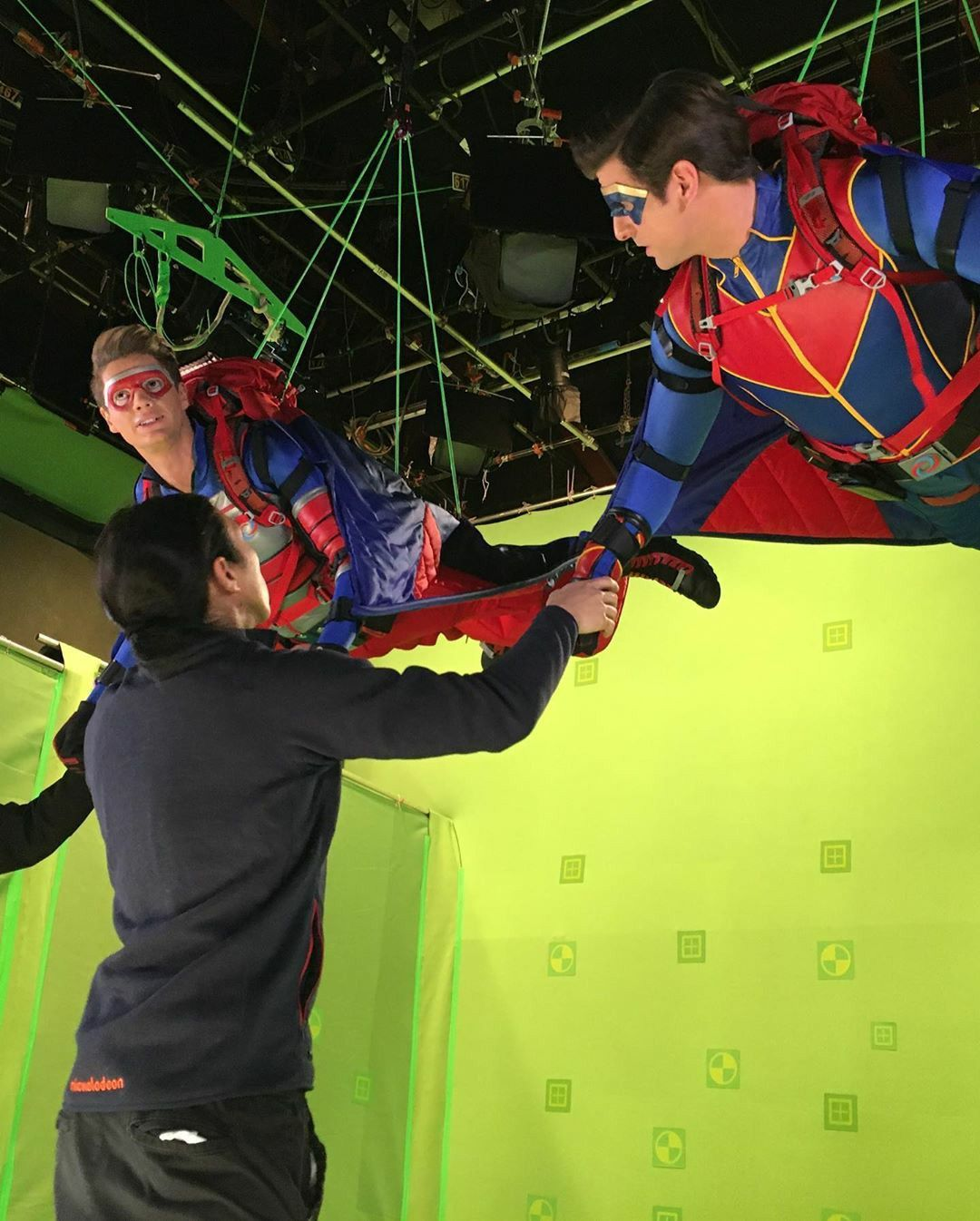 Captain Man And Kid Danger Image By Felicia Dragotto In 2020 Henry Danger Actor Henry Danger Nickelodeon Jace Norman Snapchat