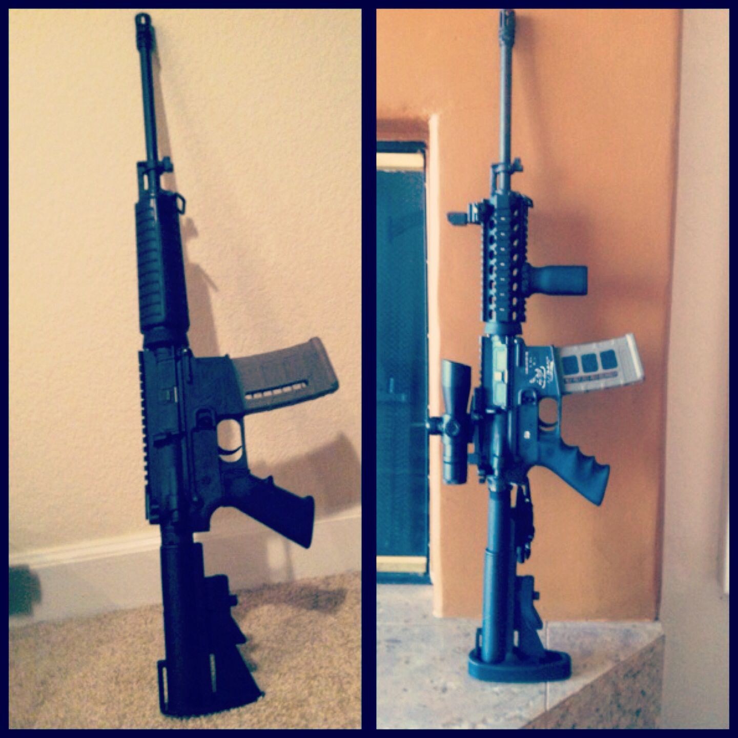 Before and after Bushmaster Carbon-15 AR15 | Guns I own | Pinterest ...