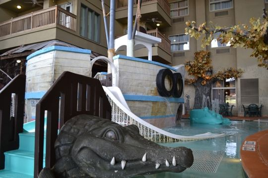 Madison S Only Waterpark At The Holiday Inn Hotel Suites Madison