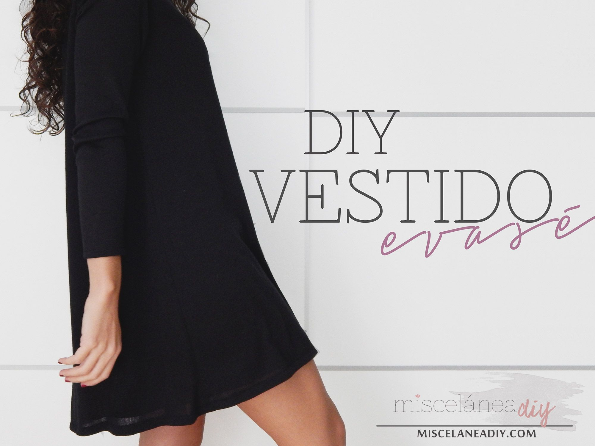 DIY sewing | Vestido con vuelo | Swing Dress | Clothes DIY ...