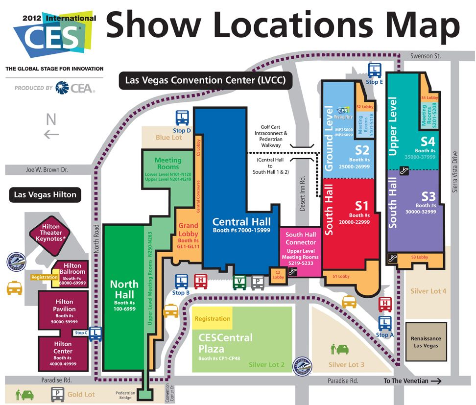 Ces Map on