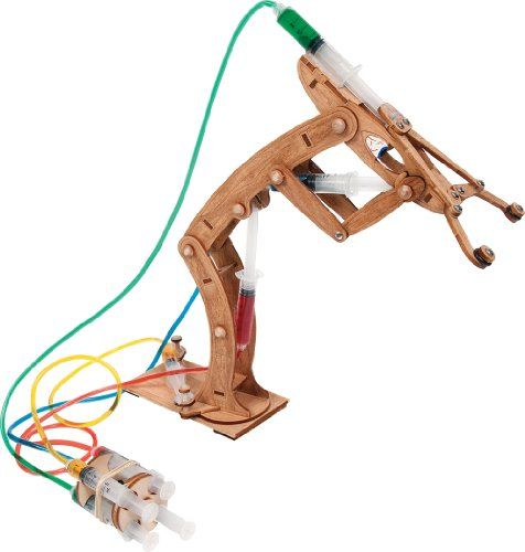Pitsco Laser-Cut Basswood T-Bot II Hydraulic Arm (Individ...