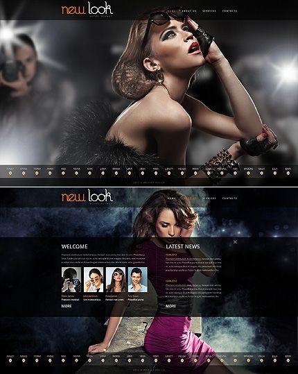 Create Flash Website Template Agency Swf - The best free