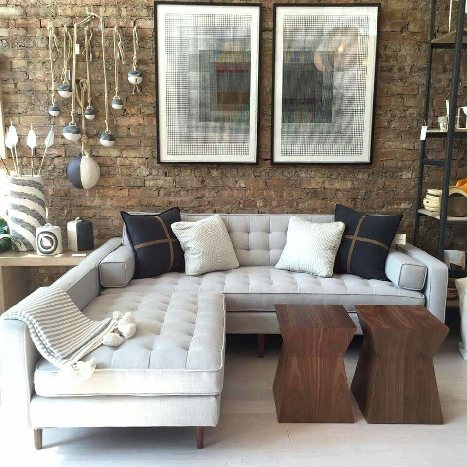 Spencer Sofa Sectional By Gus Modern Sofa Design Best Sofa Sofa Images