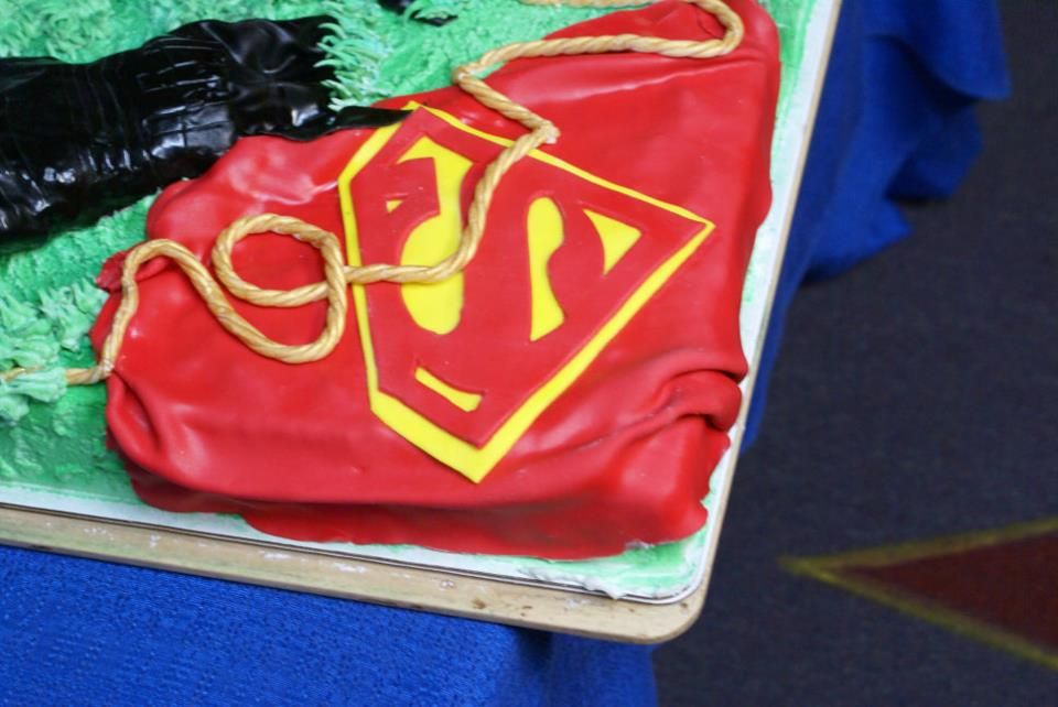 Justice League Cake for release of DC Comics relaunch of Justice League