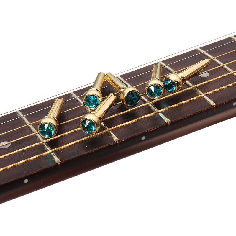 Copper Abalone Guitar Bridge Bone Pins Set For Acoustic Guitar Kotimart Com Guitar Parts Acoustic Guitar Acoustic