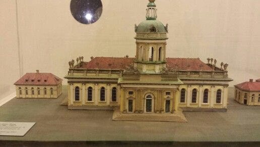 Maquette eglise de berlin