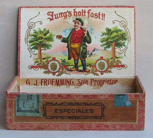 Картинки по запросу старинные сигарные коробки | Коробка ...