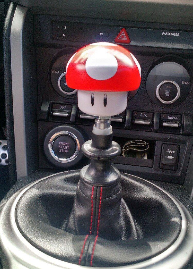 Super Mario Mushroom Shift Knob | I want | Super mario, Wrx mods