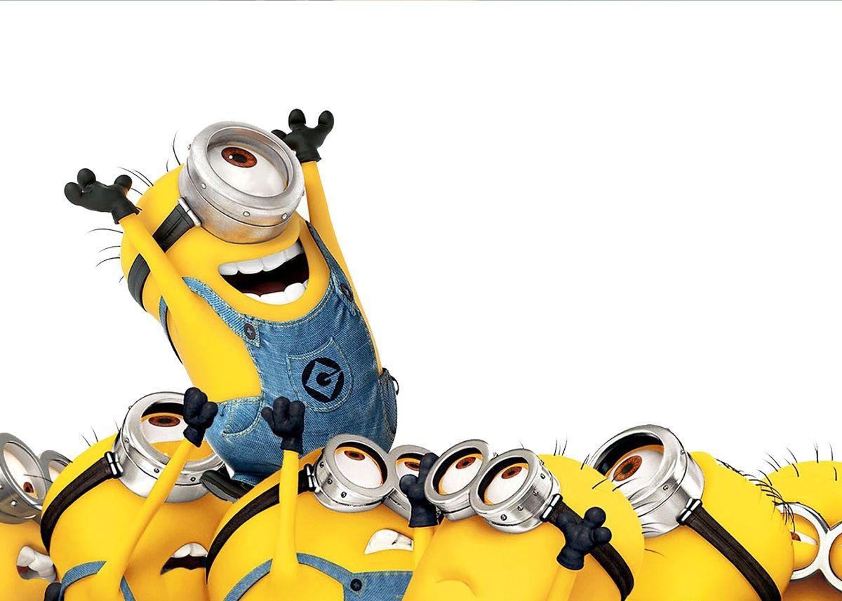 Convite Ou Cartao Os Minions Mini Yellows Pinterest Minions