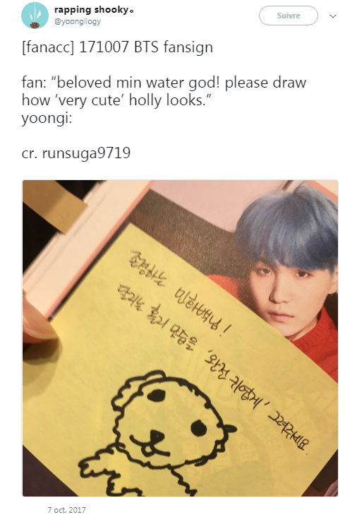 his drawings are always the cutest istg