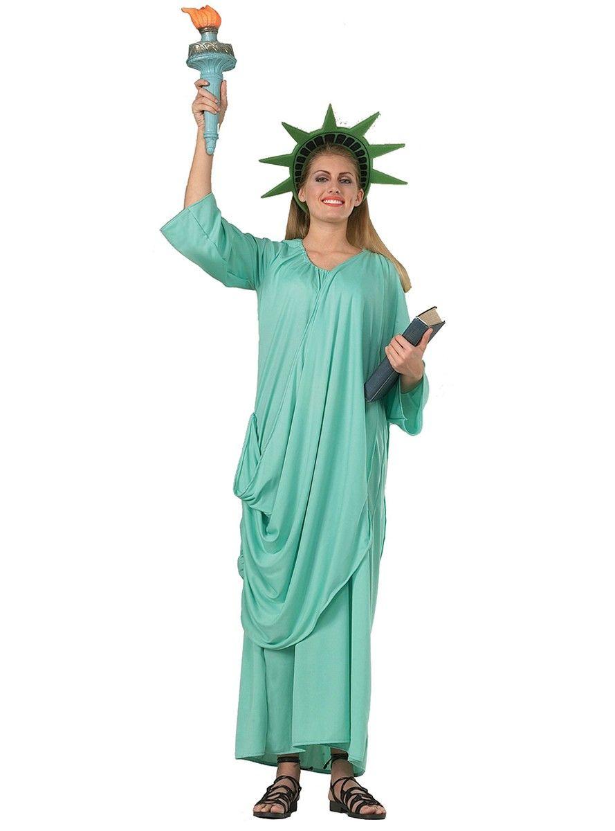 Costume de Statue de la Liberté | deguisement | Pinterest