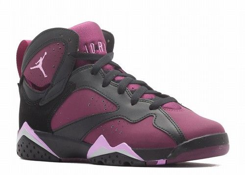 100% authentic 94da4 73ed5 Air Jordan 7 GG Mulberry Color  Black Fuchsia Glow-Mulberry-Wolf Grey Style  Code  442960-009 Release Date  December 12th, 2015