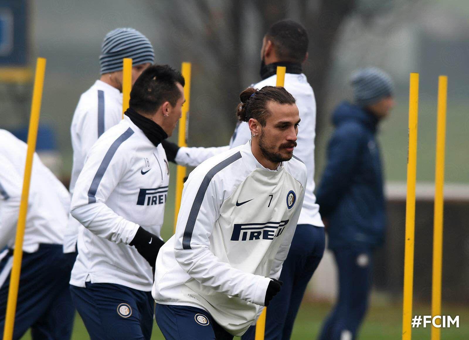 Medel con el Inter