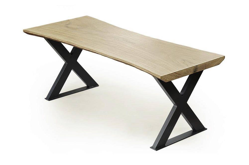 Raw Edge Coffee Table Uk Light Oak Slab Wooden