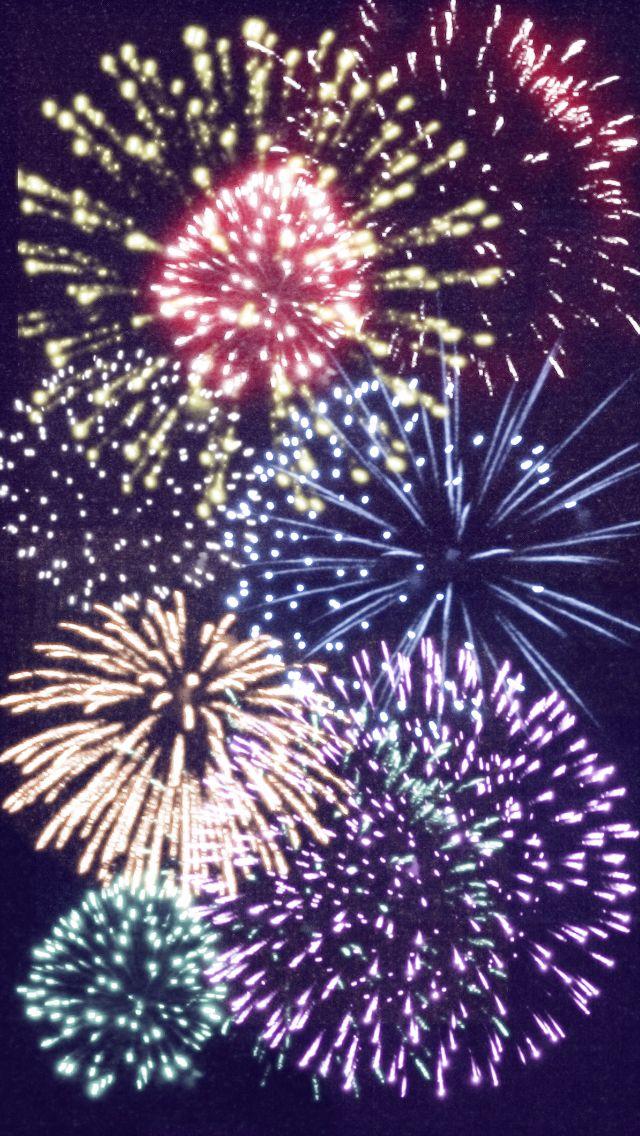 Cute fireworks wallpap...
