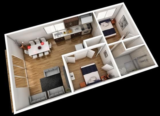 Pinterest ideas to convert garage into flat google for Granny flat above garage