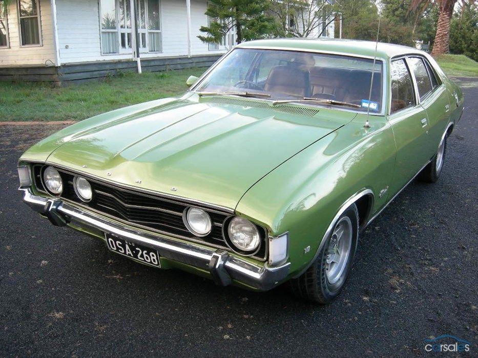 1972 Ford Fairmont XA Ford granada, Aussie muscle cars