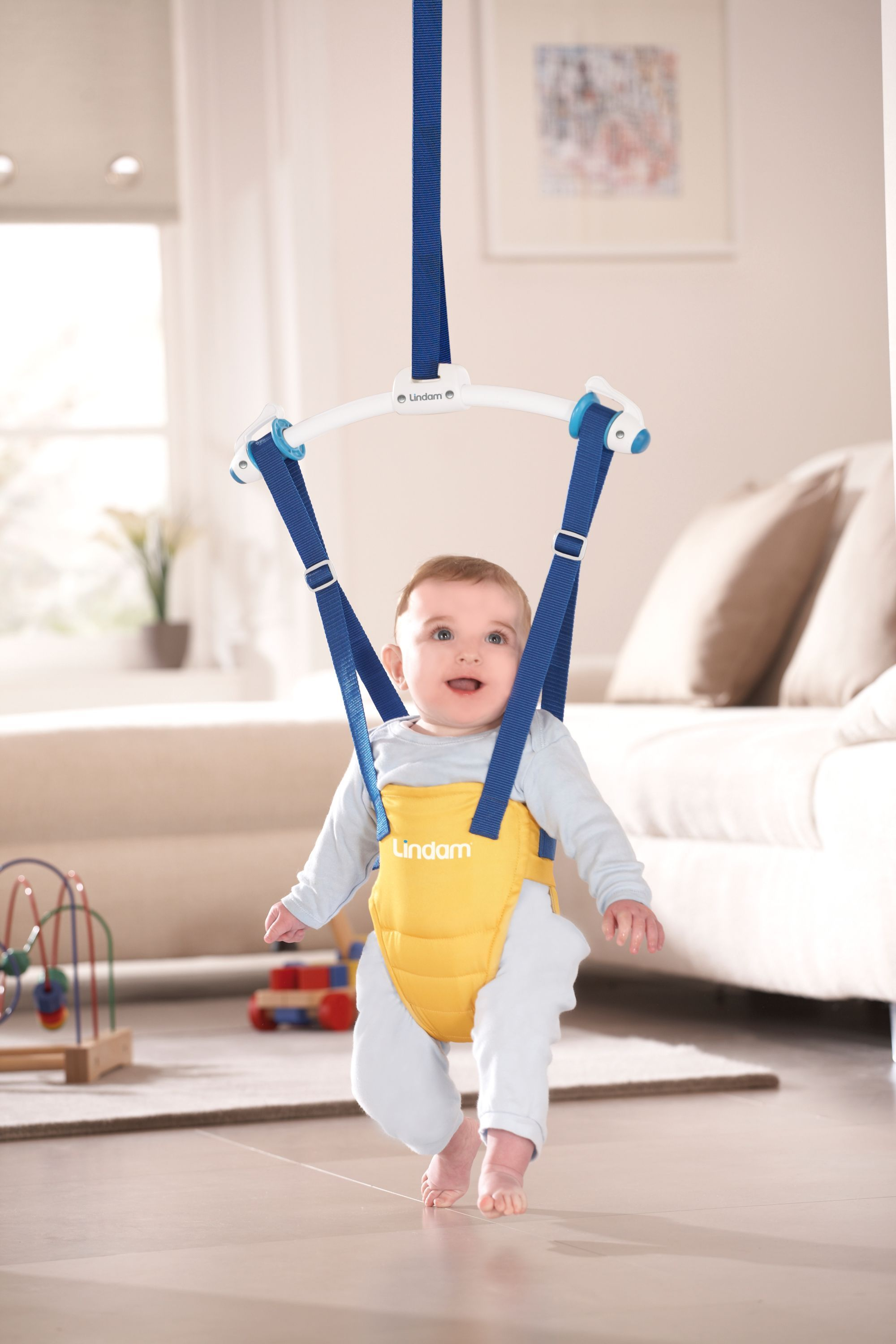 297a0b0bfdac Duck Door Bouncer   3-15 Months Want Something Like This Lindam Jump ...