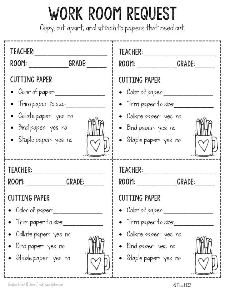 Teacher Work Room Tips  Teacher School And Elementary Schools