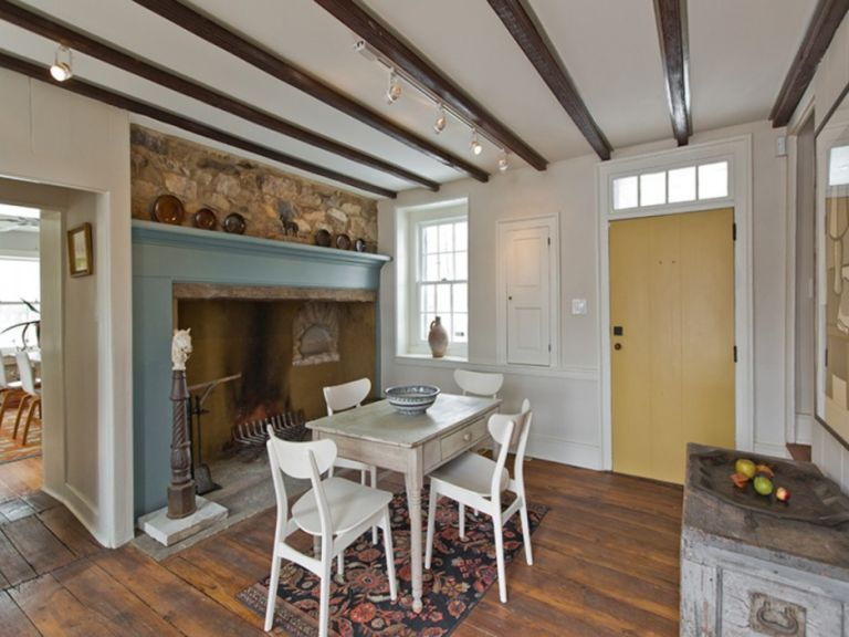 Step Inside This 18th Century Stone Farmhouse