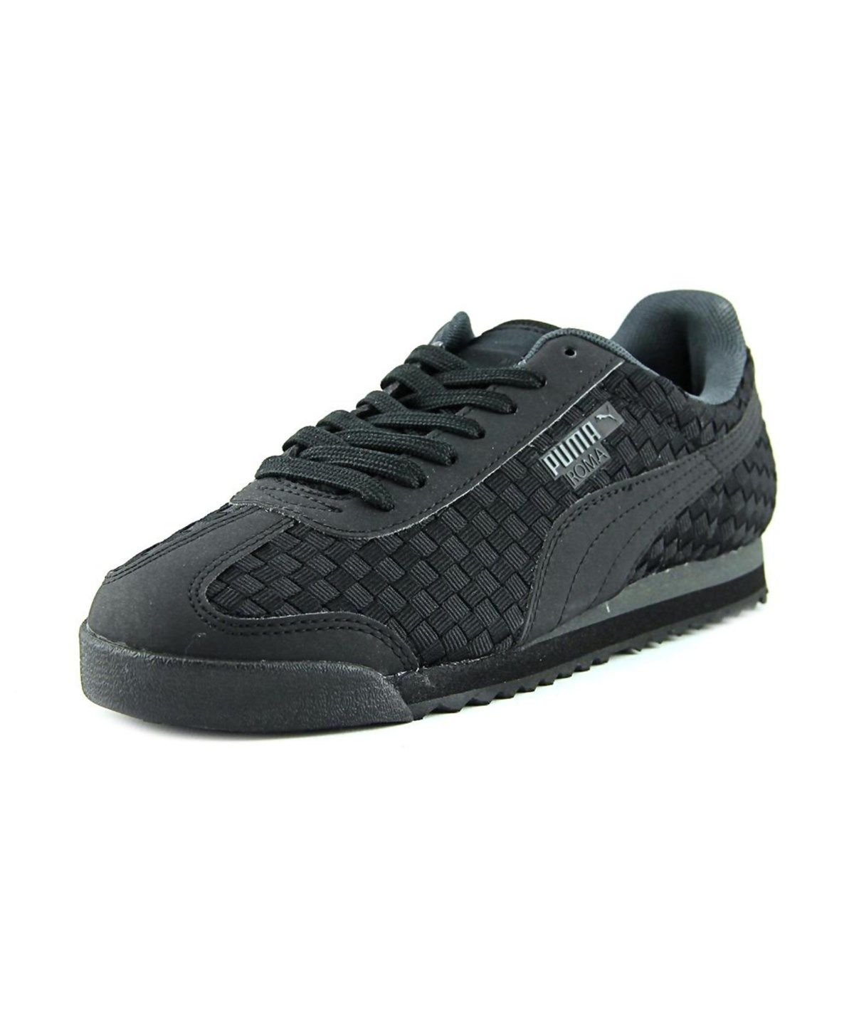 acef1586e32a7a PUMA Puma Roma Weave Men Round Toe Canvas Sneakers .  puma  shoes  sneakers