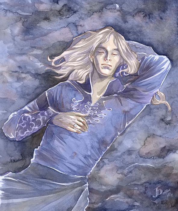 Finrod dreaming by =Gold-Seven on deviantART