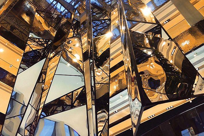 Joachim Sauter Work Tetrascope 2013 Installation Art Com Fractals
