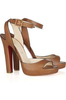 Christian Louboutin, Viola leather sandals