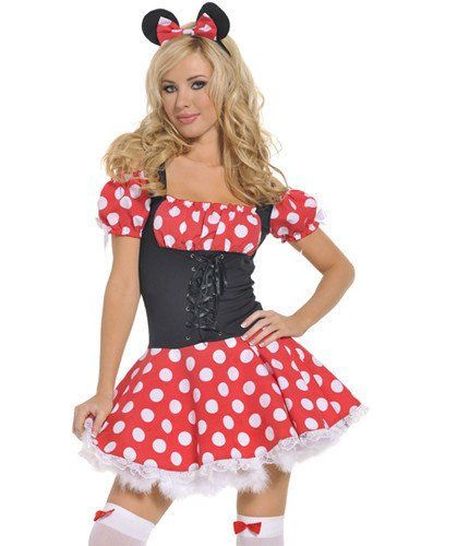 Adult Halloween Costumes for Women Minnie Costume for Women Cosplay - sexiest halloween costume ideas