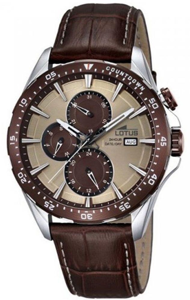 Reloj multifunción para caballero de lotus