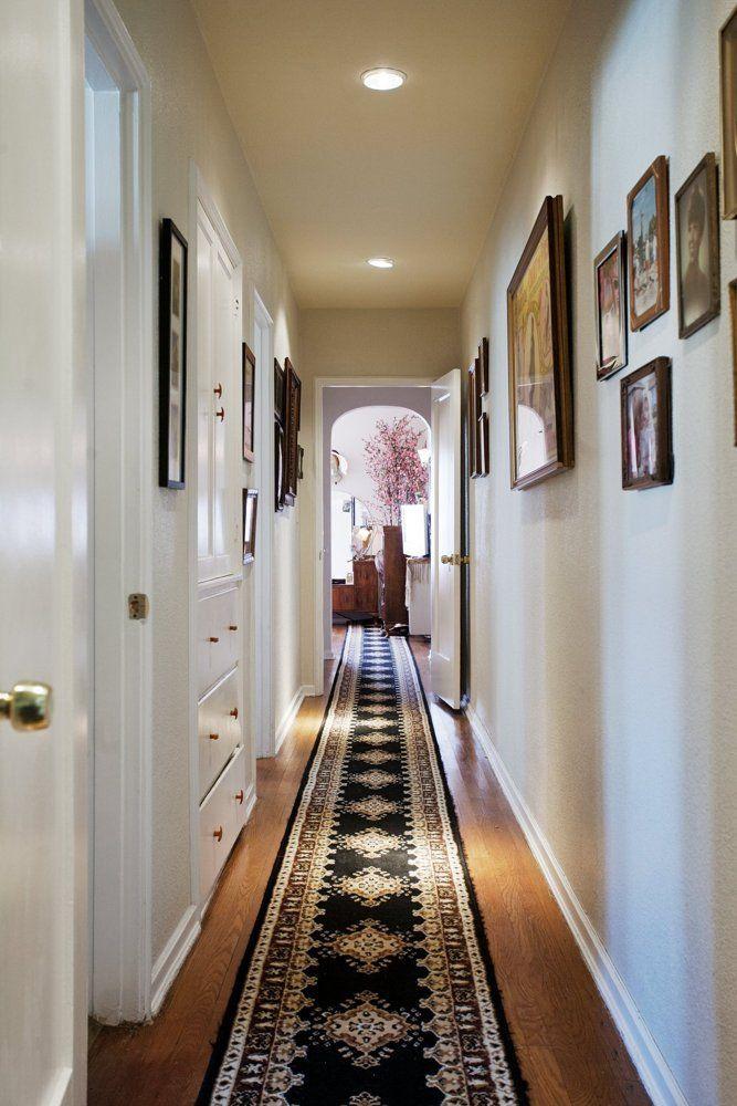 Jeremy U0026 Kimu0027s Cozy Deco Home. Long HallwayHall ...