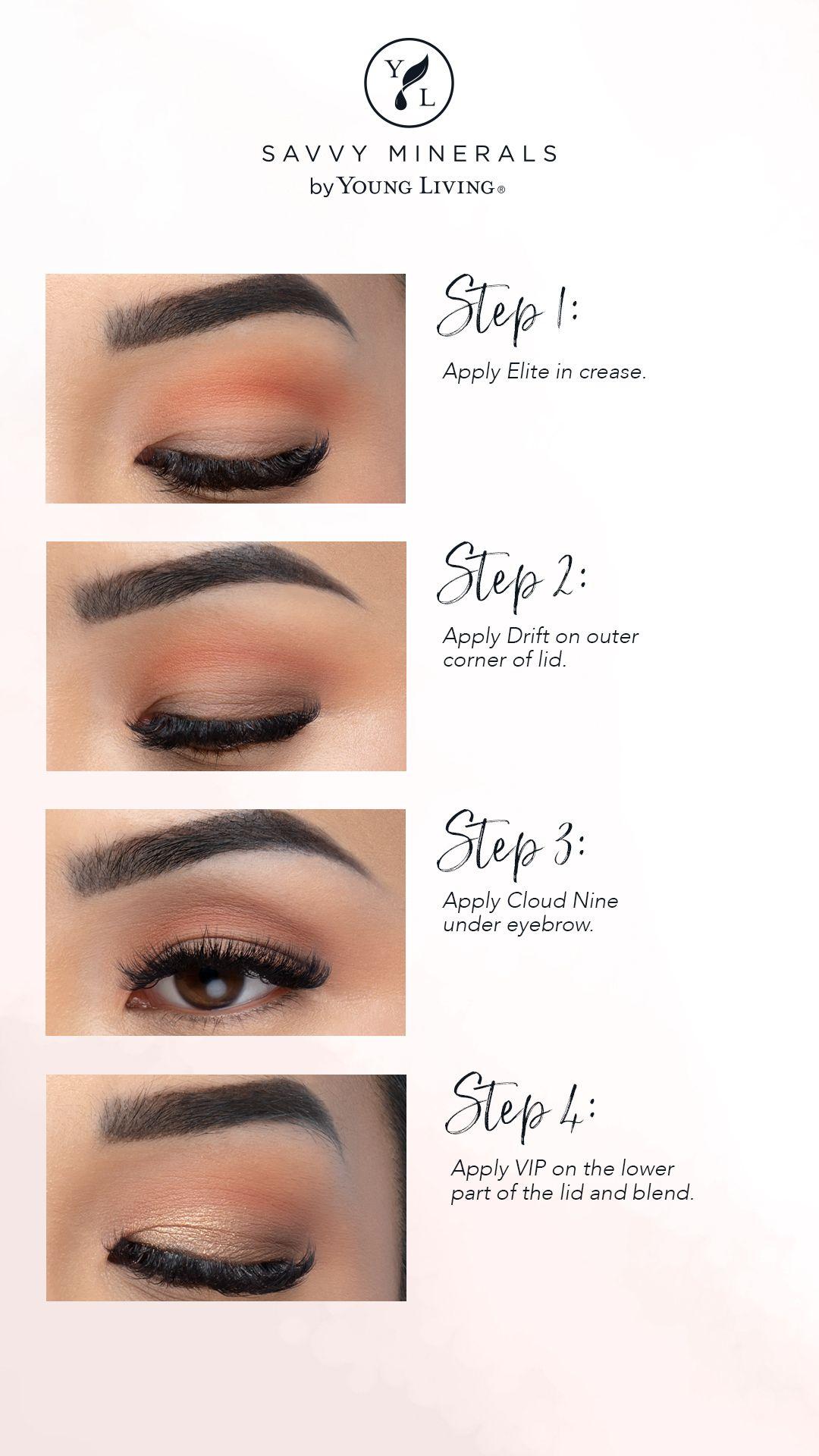 Eyeshadow Palette Natural Quartz Savvy minerals