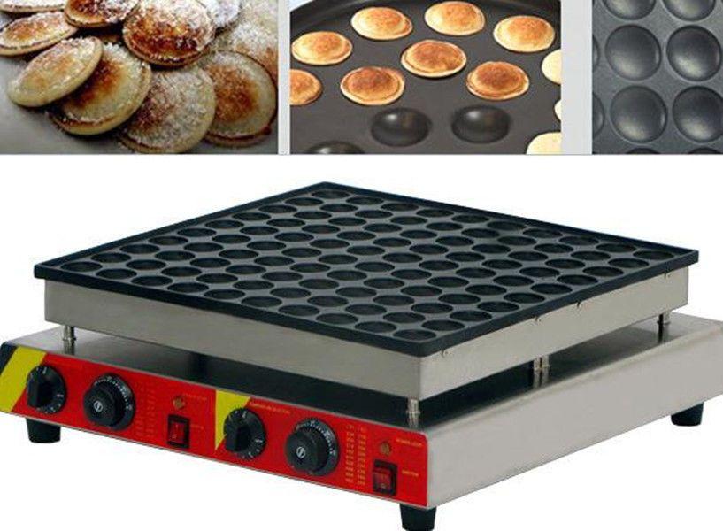 Nonstick Electric Heart Shape Dutch Poffertjes Mini Pancake Maker Machine Baker