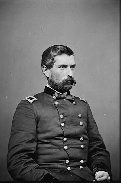 General John Gibbon. Was to meet up with Terry before the Battle of the Little Big Horn.