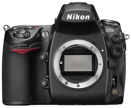 Nikon D700 12.1MP FX-Format CMOS Digital SLR Camera with 3.0-Inch LCD (Body Only) $2349.00