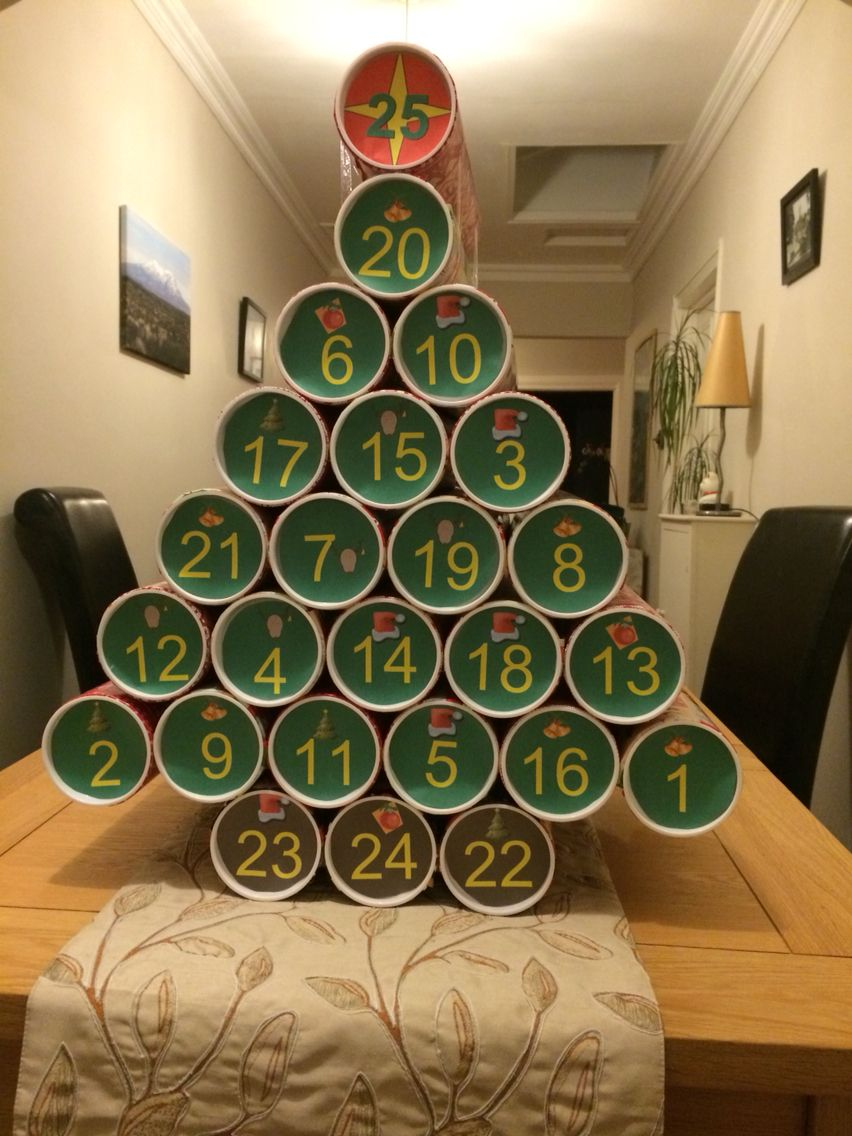 Beer advent calendar made it an