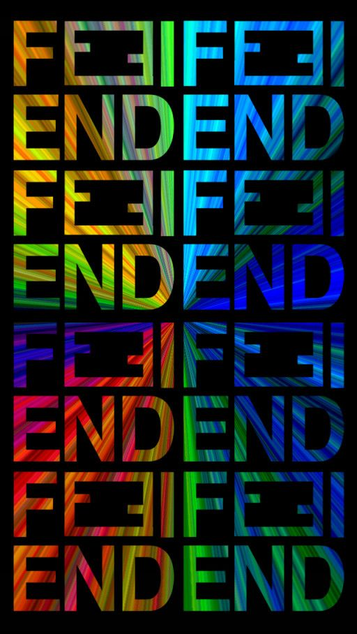 iPHONE5壁紙51-FENDI 2-フェンディ2の画像