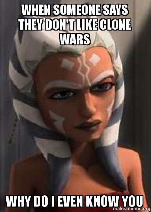 Hahaha True Star Wars Jokes Star Wars Ahsoka Star Wars Fandom