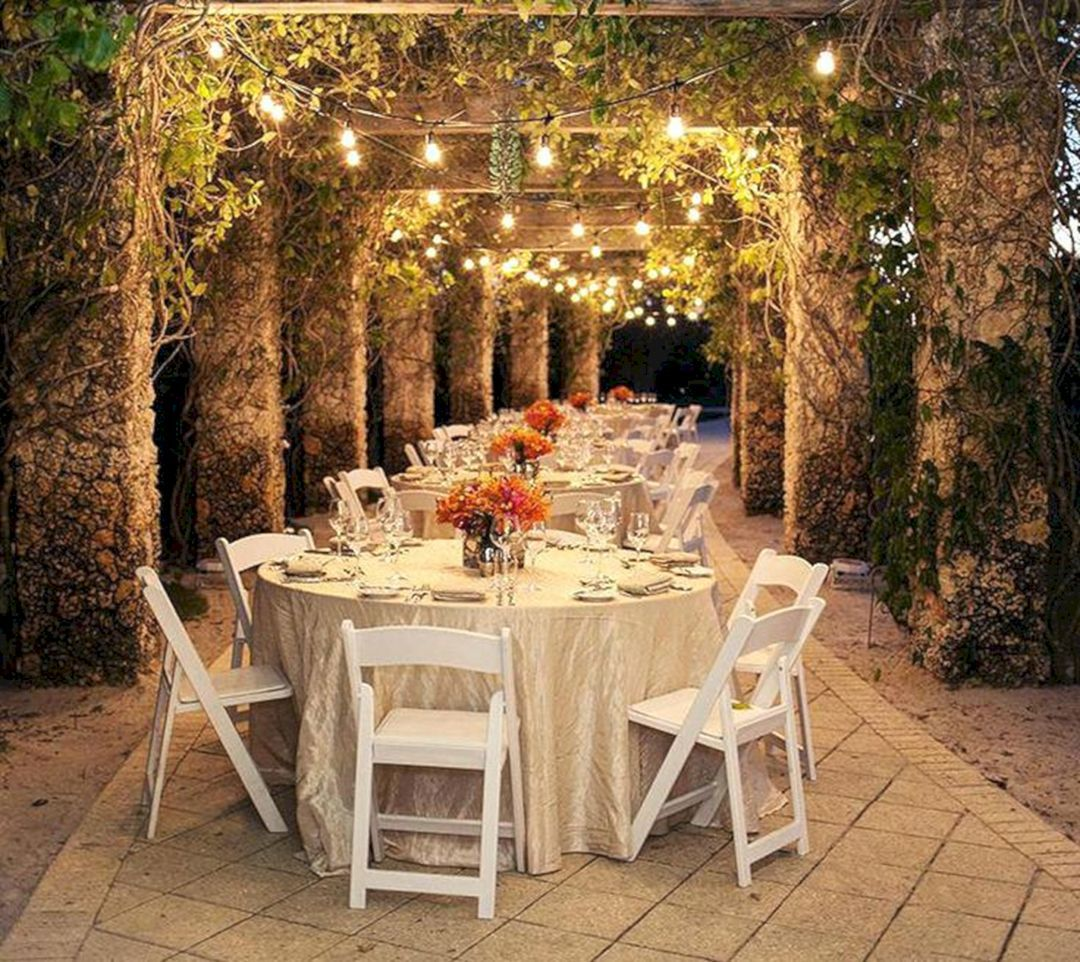 Luxury Wedding Reception With A Perfect And Awesome: 25 Unique Wedding Venue Design Ideas For Amazing Wedding