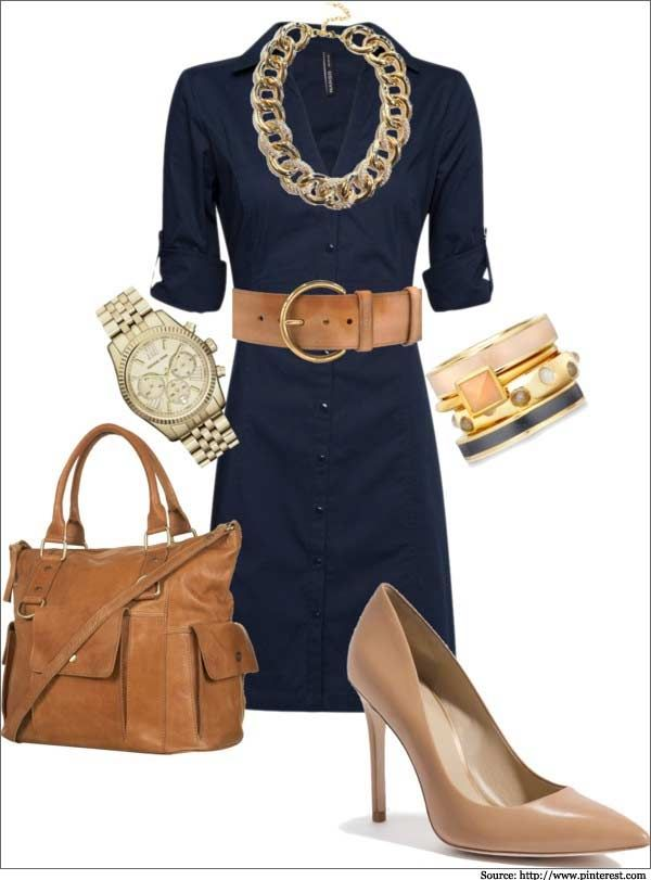 What to wear to work formal casual dress for women for How to accessorize a navy blue dress for a wedding