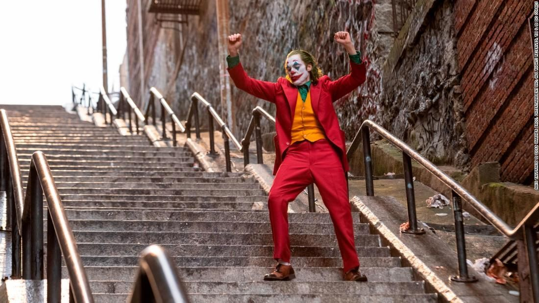 The 'Joker' stairs might be New York's latest tourist