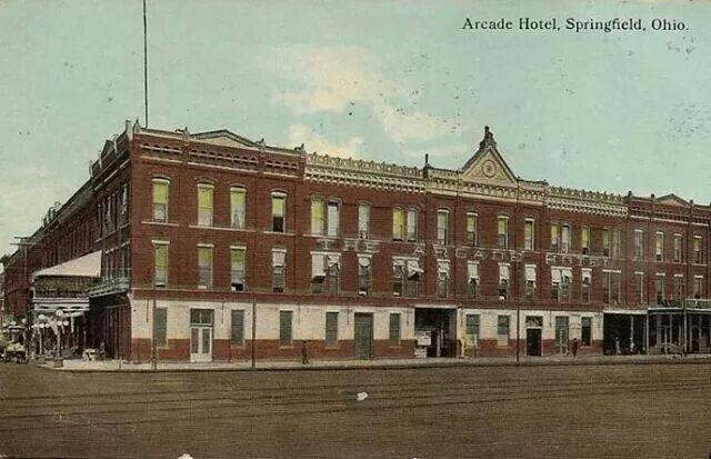Ohio The Arcade Hotel