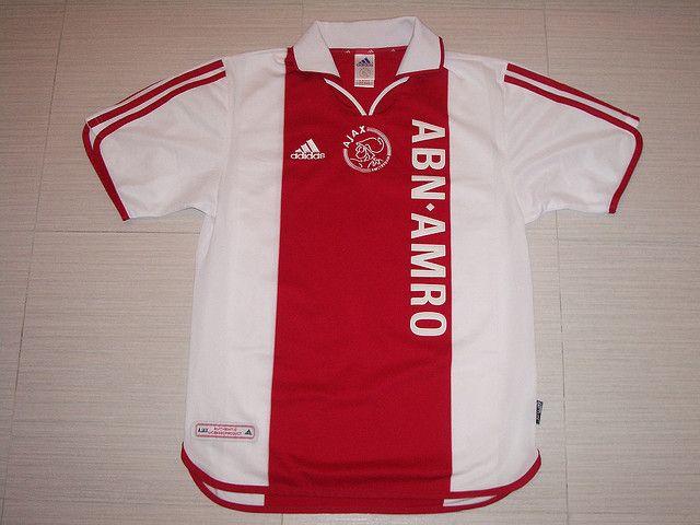 dbd58191f02 Ajax 2000 Centenary Home Shirt 2000-2001