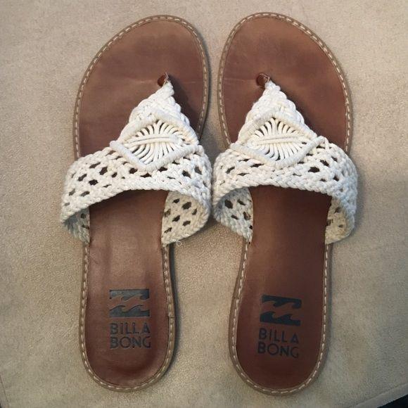 Billabong Flip Flops Only worn twice | No trades ❤️ Billabong Shoes
